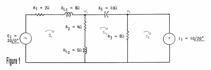 Circuit branch analysis exam 2 a draw a phasor diagram b find the value of r c find the value of l d at what frequency does the circuit have a total impedance zt 10535 angle ccuart Gallery